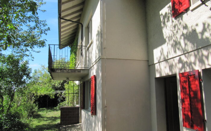 Hausfassade Südseite